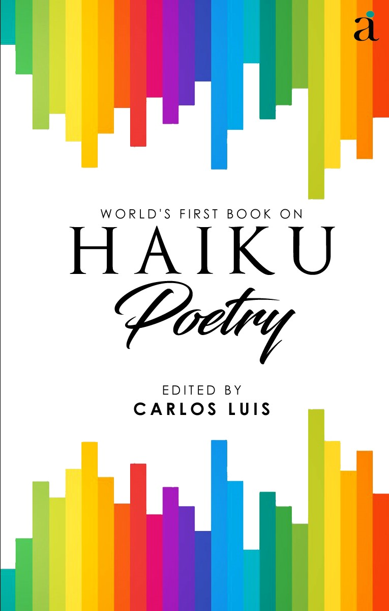 Poetry Book Front Cover ~ World s first book on haiku poetry author ink
